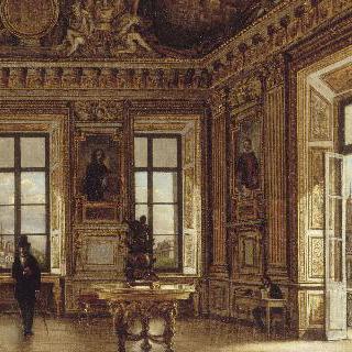 루브르의 아폴론 갤러리의 전경