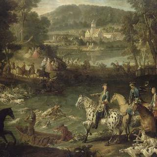 생-장-오-부아의 연못의 사슴의 죽음