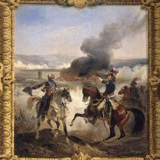 앙기아리 전투, 1797년 1월 14일, 명령을 내리는 오게로 장군