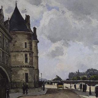파리의 오를로주 강변 (승강장)
