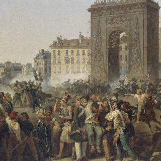 1830년 7월 28일, 생-드니 성문에서의 전투