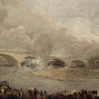 1722 9월 22일, 뇌이유 다리의 철거
