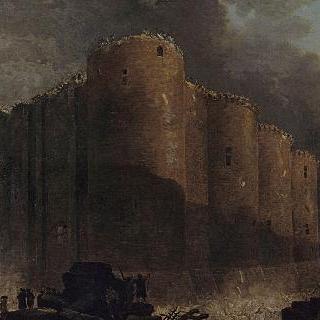 바스티유 감옥의 철거