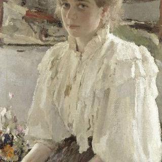 화가의 사촌, 르보프 부인 (1864-1955), (마리아 이아코브레나 시모노비치)