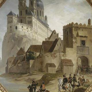 1805년 11월 10일 프랑스 군대의 멜크 수도권 정복