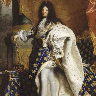 왕실복을 입고 있는 프랑스의 왕, 루이 14세