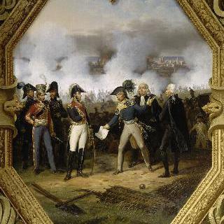 1807년 8월 20일, 슈트랄준트의 항복을 받는 브륀 장군