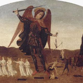 영혼들을 나누는 성 미카엘