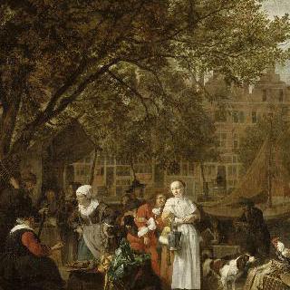 암스테르담의 허브 시장