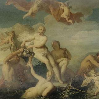 물에서 구출된 갈라테이아