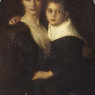 다냥 부베레 부인과 아들의 초상