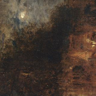 베니스의 에스클라본 둑, 밤의 풍경