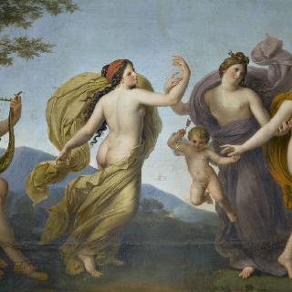 아폴론의 리라 소리에 춤추는 삼미신
