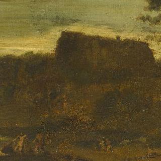 도미니캥의 작품 모사 : 헤라클라세와 카쿠스 (루브르)