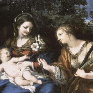 성 마르티나와 성 모자상