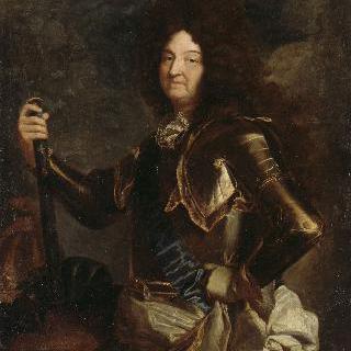 1701년 경 프랑스와 나바르의 왕 루이 14세