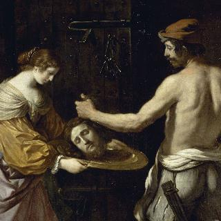 세례 요한의 머리를 건네받는 살로메