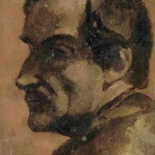화가의 친구 에르네스트 블라니의 초상