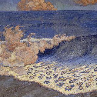 파도치는 푸른바다