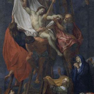 십자가에서 내려지는 예수