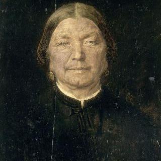 노부인의 초상, 화가의 숙모
