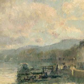 루앙 옆, 크루아세 지방의 센 강가