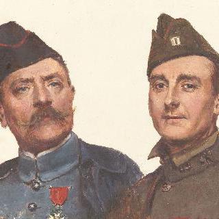 조제프 펠릭스 부쇼르와 그의 친구 데이비드 그레이의 초상