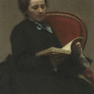 빅토리아 뒤부르그 (1840-1926), 화가, (훗날 화가의 부인)