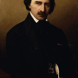 렌 지방의 시인 이폴리트 뤼카의 초상 (1807-1878)