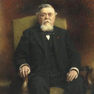 공화국의 대통령 아르망 팔리에르의 초상
