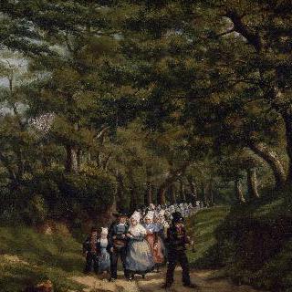 브르타뉴의 결혼식