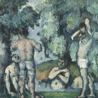 목욕하는 사람들