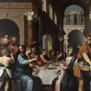 가나의 결혼식에 참석한 그리스도