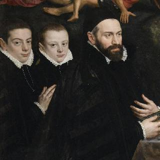 앙투안 델 리오와 그의 아들들의 초상