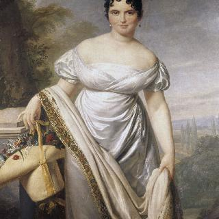 카라망 시메 부인으로 추정되는 초상