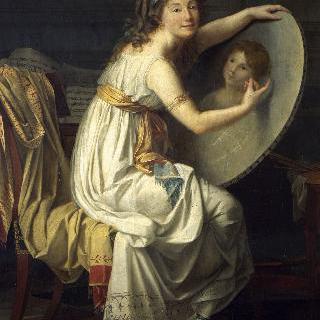 마드무아젤 드 크뢰의 초상