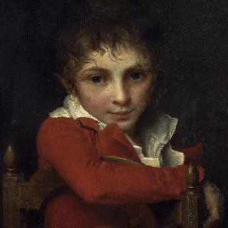 어린시절의 의사 델죄즈의 초상