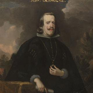 펠리페 4세(1605-1665), 황금양털 목걸이를 건 스페인왕
