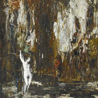 동굴 속의 여인