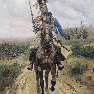 헝가리 기병의 전위대