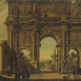 로마의 콘스탄틴 아치