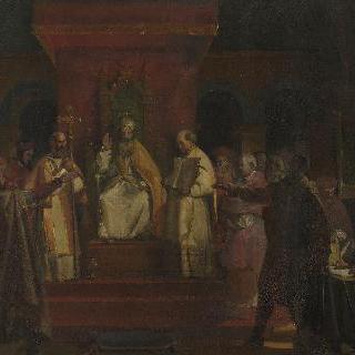 교황 오노리우스 2세가 공식인정한 콩실 드 트루아 수도회