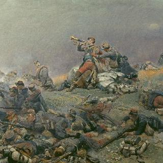 생 프리바 전투, 베르브지에 사령관의 죽음