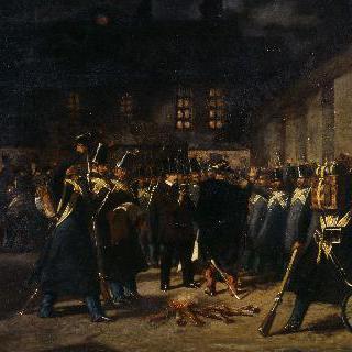 1851년 12월 2일의 쿠데타 당시 집합한 근위대