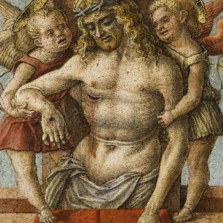 두 천사에게 부축되는 죽은 그리스도