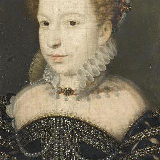 마르게리트 드 발루아의 초상, 나바르 여왕