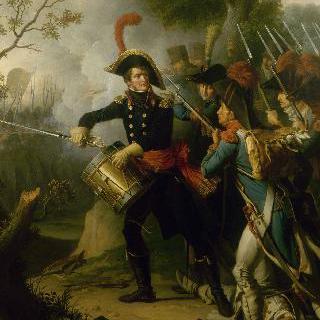 디에르세임 진격을 알리는 뒤엠 장군, 1797년 4월 20일