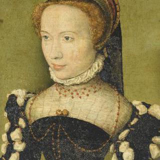 가브리엘 드 로슈수아르로 추정되는 초상 (마르그리트 드 프랑스의 초상)