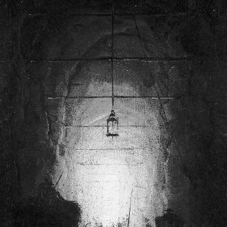 포질리프 동굴 안의 양떼들