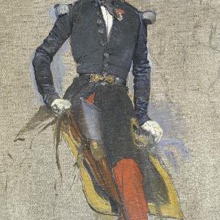 오말 공작, 제17의 경기병대의 대령, 알제리